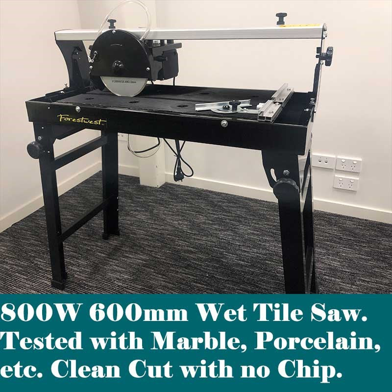 800W 600mm Wet Tile Saw | Wet Tile Saw & Tile Cutter Forestwest