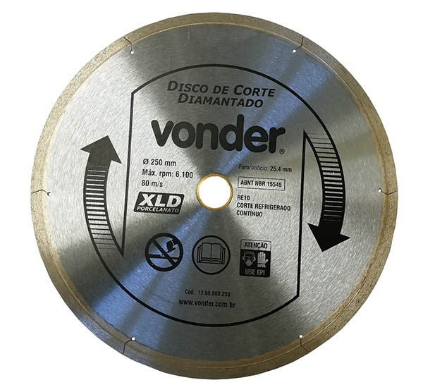 250mm Diamond Tile Saw Blade - Forestwest