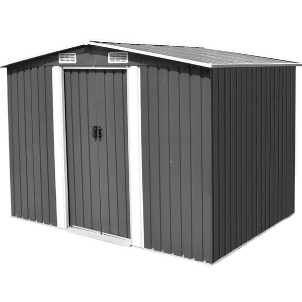 Garden Shed Tool Storage 2.57*3.12*1.92m - Forestwest