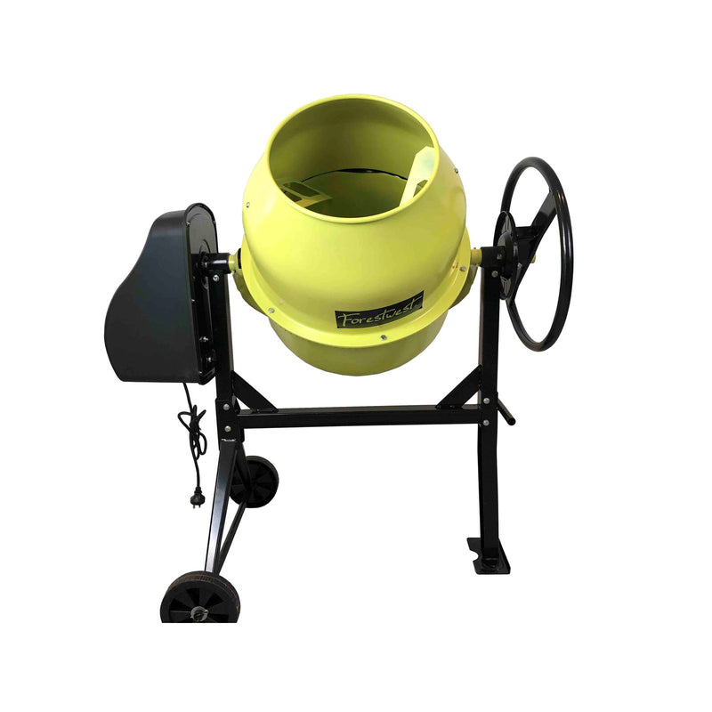 120L Portable Cement Mixer 450W Electric | Cement Mixer & Mortar Mixer Forestwest