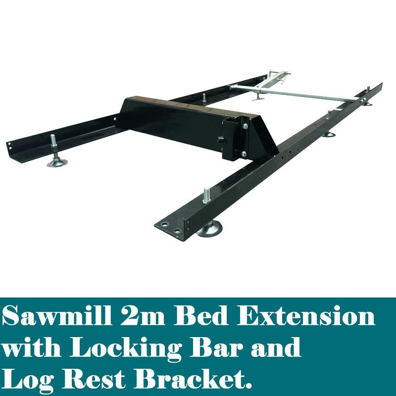 2m Bed Extension for Forestwest Sawmill | Sawmill Forestwest