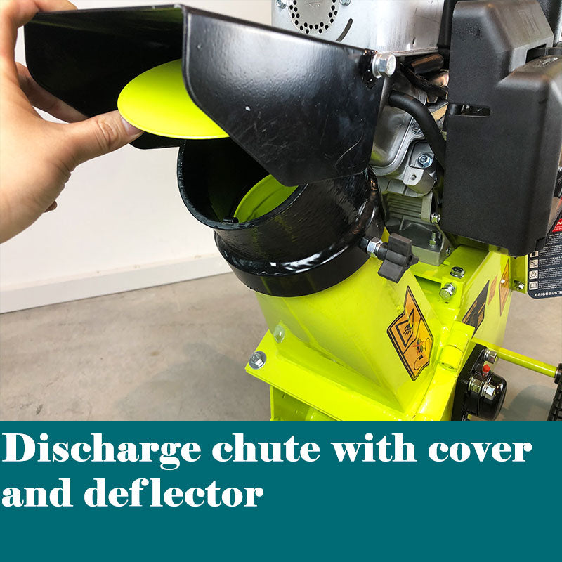 100mm Wood Chipper Shredder Mulcher 250cc B&S Engine Commercial Grade | chipper Forestwest