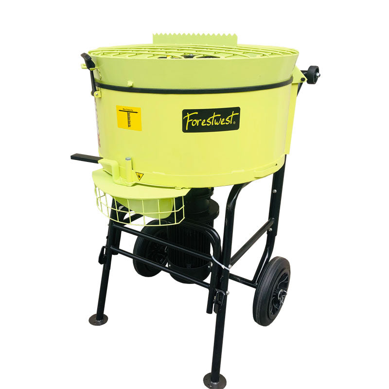 120L Pan Mortar Mixer Portable Screed Mixer 1500W BM679 | Cement Mixer & Mortar Mixer Forestwest
