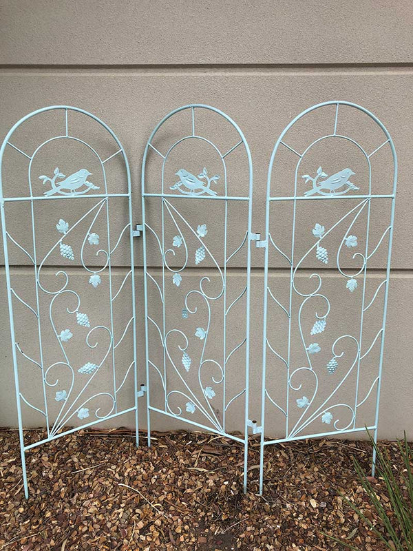 Garden Metal Wall Art Garden Trellis - Forestwest