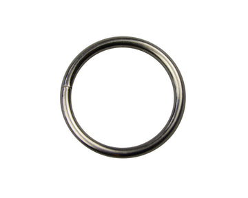 "Metal 1"" (25 x 3mm) Nickel Plated O-Ring Non-Welded (9-000)"