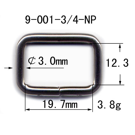 Metal Loop Welded (9-001)