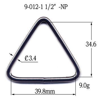 Metal Welded Tri-Ring (9-012)