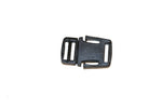 "Plastic Black 1/2"" Shoe Lock (AP014)"