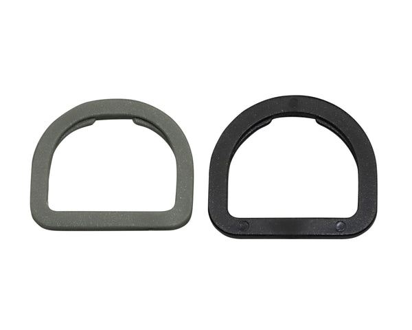 Plastic Notched D-Ring (AP002)