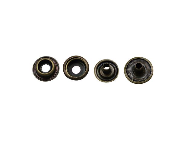 4 Piece Metal Snap Button (BUTTON)