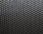 "60"" Wide Black Polyester Mesh (109)"