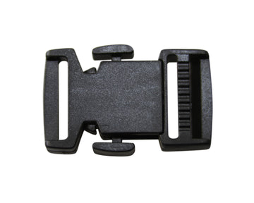 "Plastic TIFCO 3/4"" Low Profile Side Release Buckle (TFNS70520)"