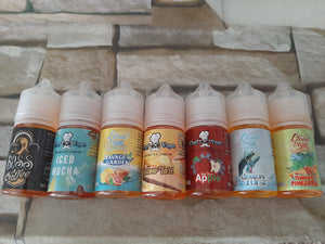 Nicotine salts different flavour 30 ml