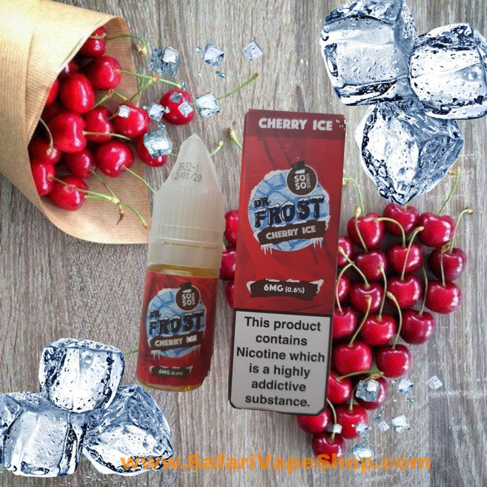 Dr. Frost Cherry Ice Vape Juice 10 ml