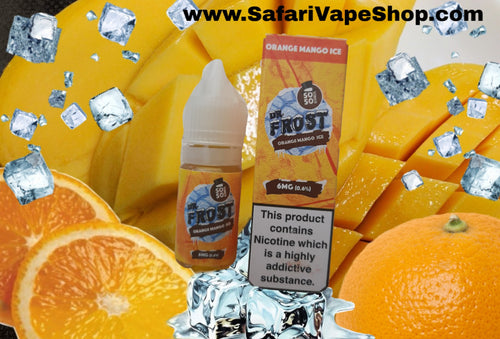 Dr. Frost Orange & Mango Ice Vape Juice 10 ml