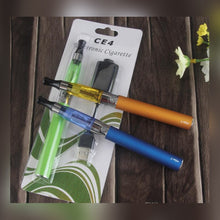 Load image into Gallery viewer, orange and blue colored eGo-t Starter Kit Electronic Cigarette