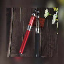 Load image into Gallery viewer, red and black colored eGo-t Starter Kit Electronic Cigarette