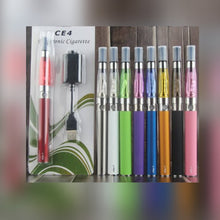 Load image into Gallery viewer, multiple colors of beginner kit ego-t e-cigarette ce4