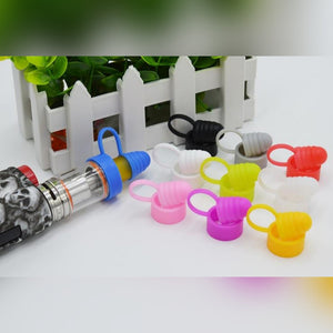 multi color Dustproof silicone rubber cap / drip tip for 18-25mm Tank atomizer or Mods