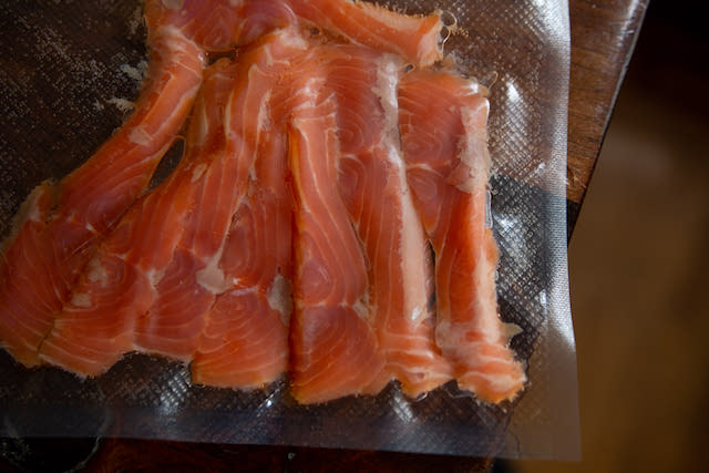 Cured Smoked Salmon