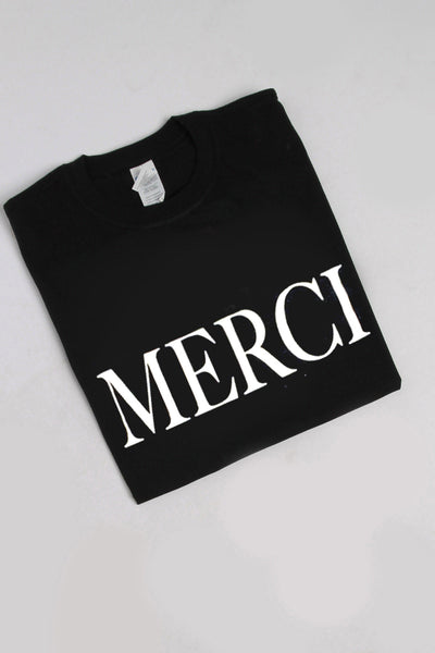 Merci Print Oversized T-shirt