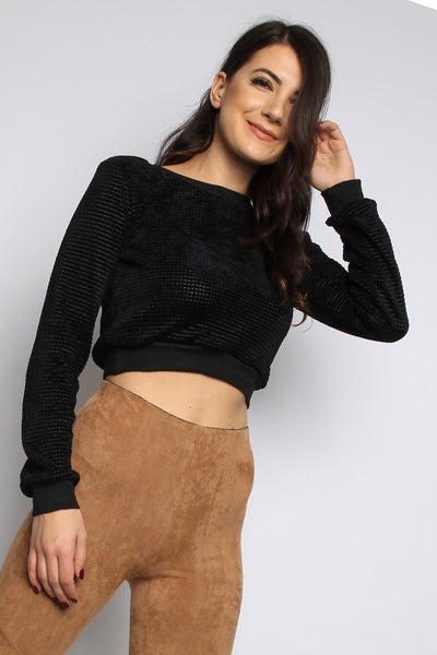 Suedette High Waist Leggings