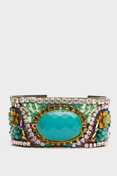 Teal Dream One Of A Kind Luxurious Bracelet
