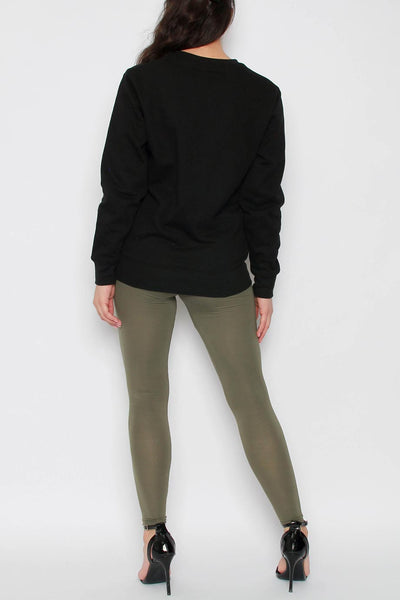 Plain Viscose Leggings