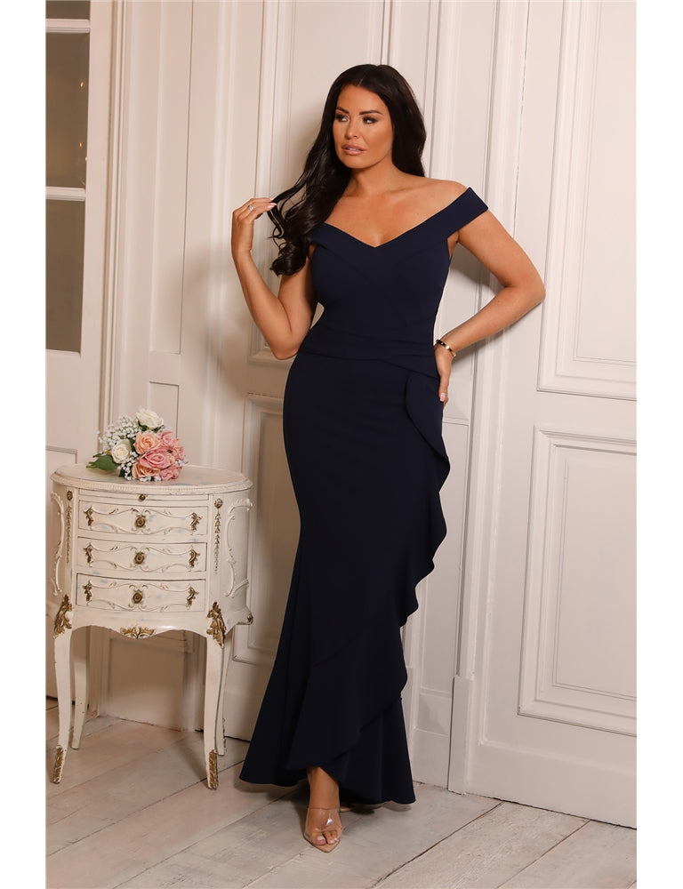 Jessica Wright Melissa Navy Dress