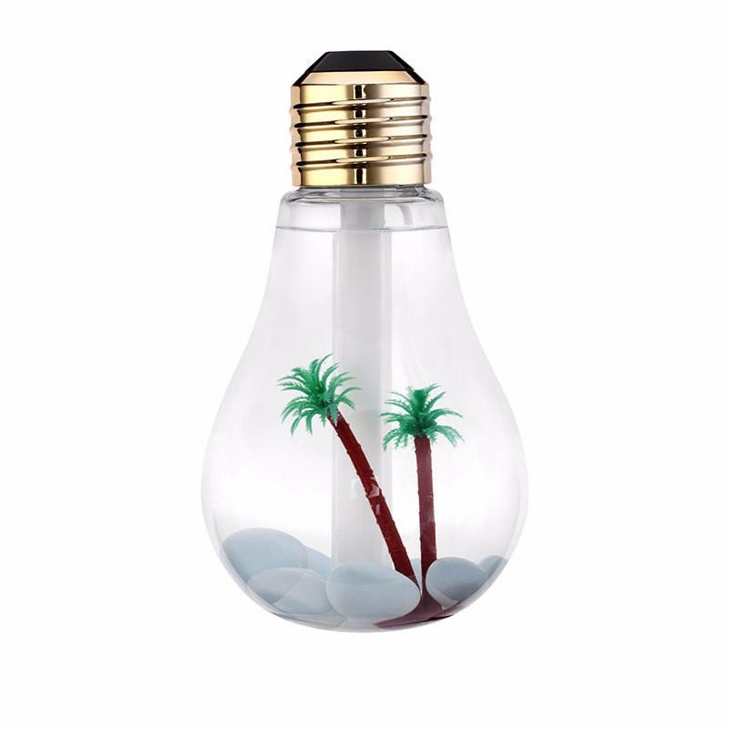 Lightbulb Aquarium Humidifier & Oil Diffuser