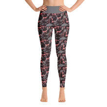 Load image into Gallery viewer, Camo Fire Ferrets Yoga Leggings