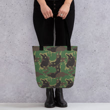 Load image into Gallery viewer, Camo Ferrets Colour Tote Bag