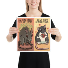 Load image into Gallery viewer, Real Vs Fear Rats Poster