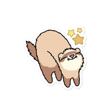 Load image into Gallery viewer, Happy Meemoo Ferret Sticker