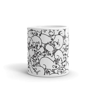 Rat Pattern Mug - SiberianLizard