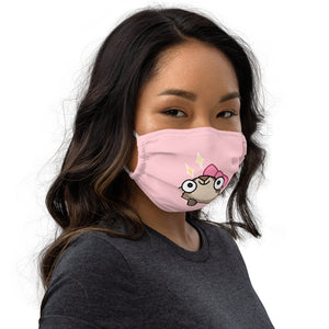 Cute Feefoo Ferret  Face Mask