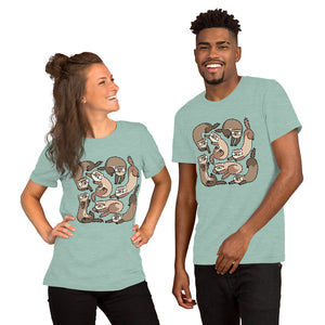 Meems & Feefs Ferret Unisex T-Shirt