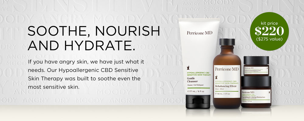 Soothe, nourish and hydrate
