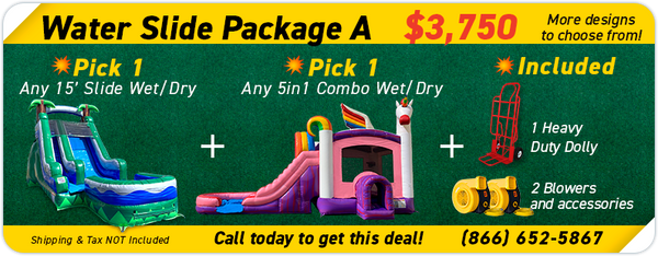 Water Slide Package A