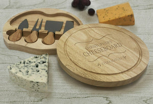Personalised any name Cheeseboard - Extra Mature