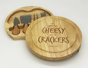 Crackers about you- Cheese Board