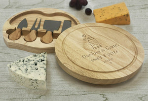 Our love is grate - Cheese Board
