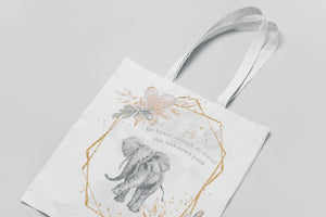 Be brave enough to travel this unknown path - Tote bag - BCV Personalised