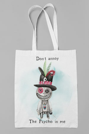 Don't annoy The Psycho in me Man Tote bag - BCV Personalised