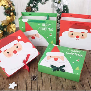 Personalised Merry Christmas Santa gift set - BCV Personalised