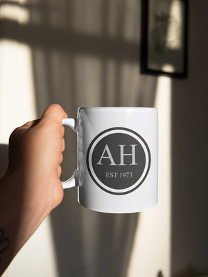 Personalised Monogram customisable 11oz Mug - BCV Personalised