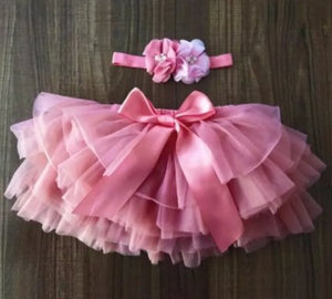 Personalised Tutu set with matching headband - BCV Personalised