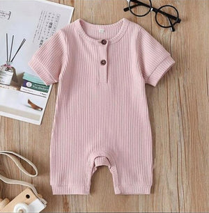 Ribbed romper suit - BCV Personalised