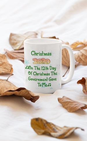 The 12 days of Christmas verse - 11oz Mug - BCV Personalised