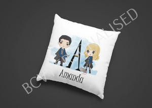 Wizardry alphabet cushion cover 16